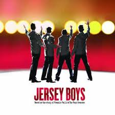 Jersey boys at piccadilly