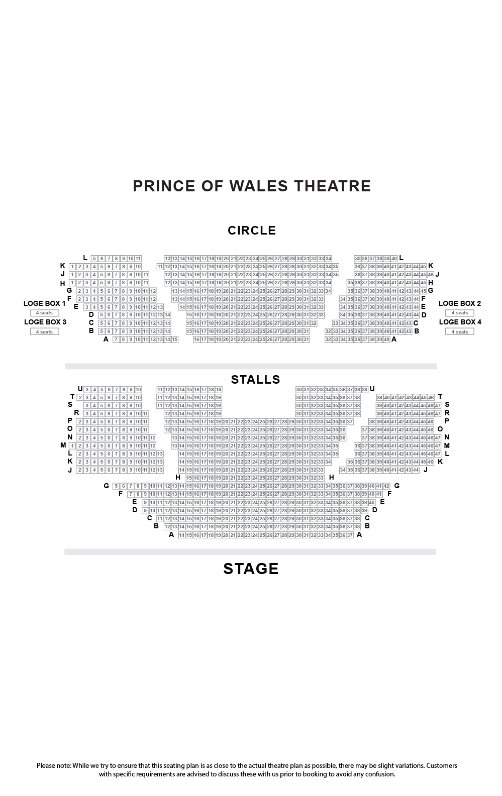 Prince of Wales Theatre London- Official Tickets - Venue